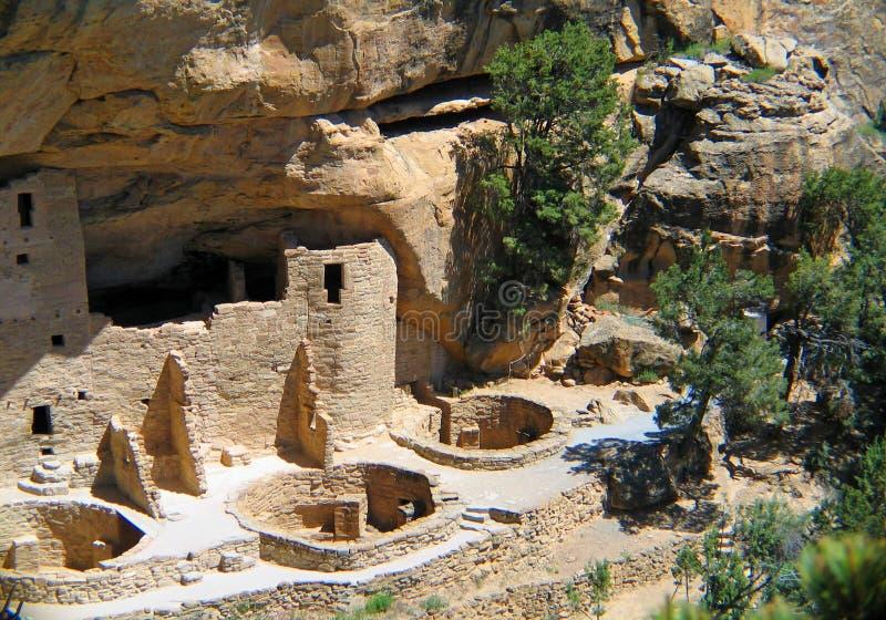 Mesa Verde-Unesco Cliff Dwellings royalty-vrije stock afbeeldingen