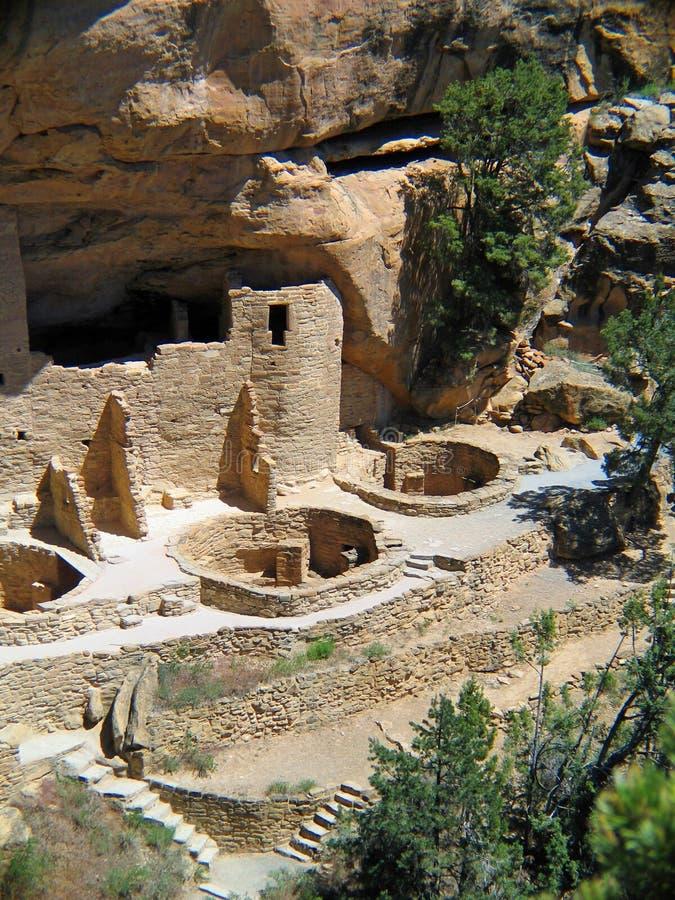 Mesa Verde-Unesco Cliff Dwellings stock foto