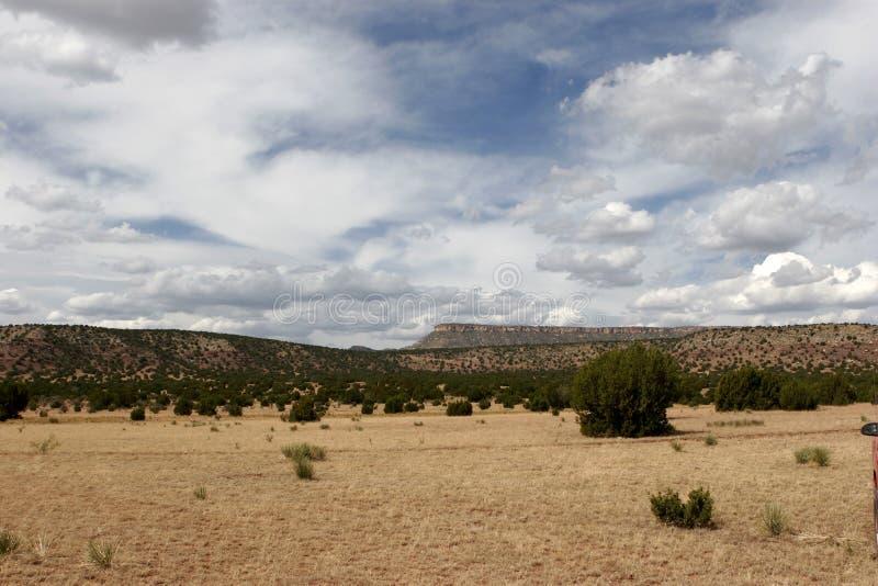 Mesas en New México imagenes de archivo