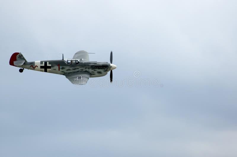 Meschersmitt en el airshow de Duxford imagen de archivo libre de regalías