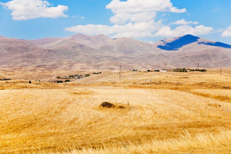 Meseta de Mountail en Armenia imagen de archivo libre de regalías