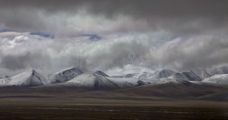 Meseta tibetana imagenes de archivo