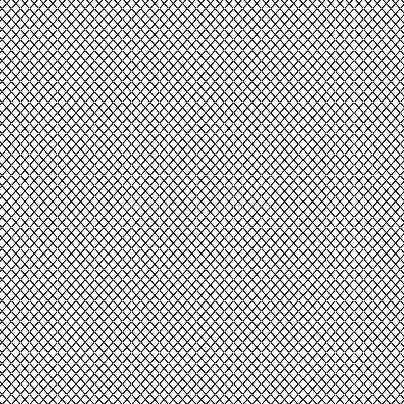 Download Mesh Grid Wallpaper Or Background Black Square On White Stock Illustration