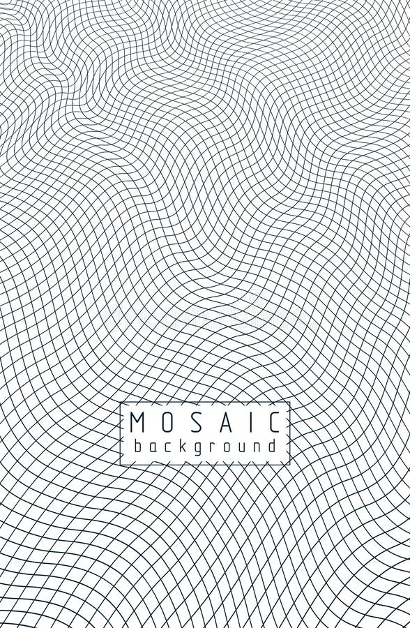 Free Mesh Lines 3d Vector Design. Royalty Free Stock Images - 159560359