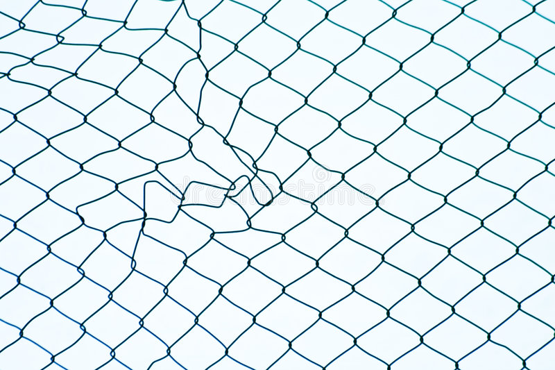 Mesh wire fence patterns stock photo. Image of chain, barrier - 5169802