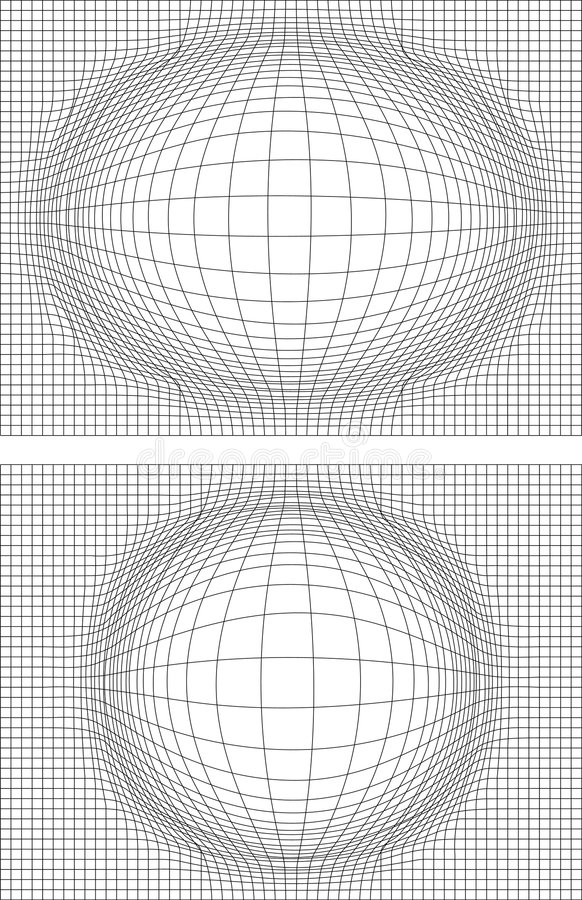 Meshes vector illustration