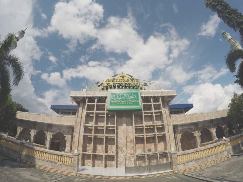 Mesjid Raya At-Taqwa Amuntai stock fotografie