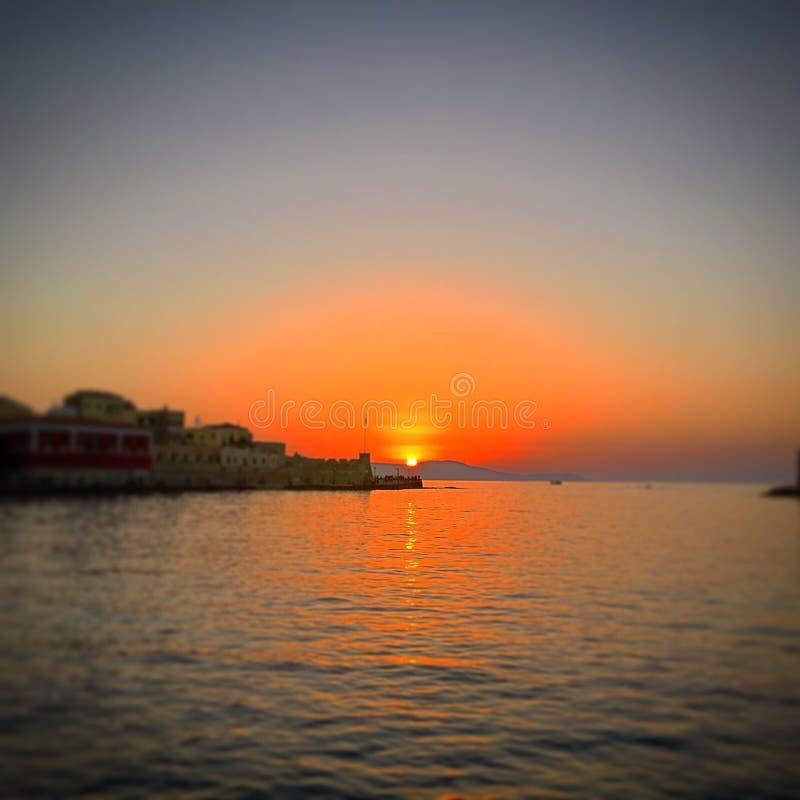 Mesmerising заход солнца стоковое фото
