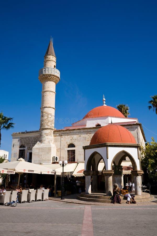 Mesquita, ágora, Kos