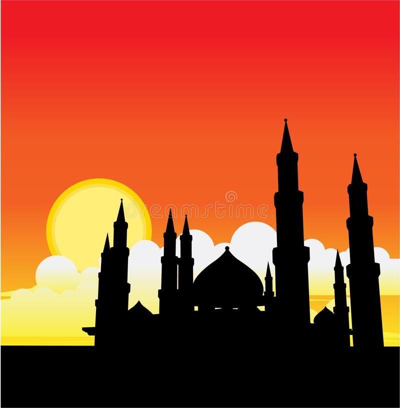 Mesquita ilustração royalty free