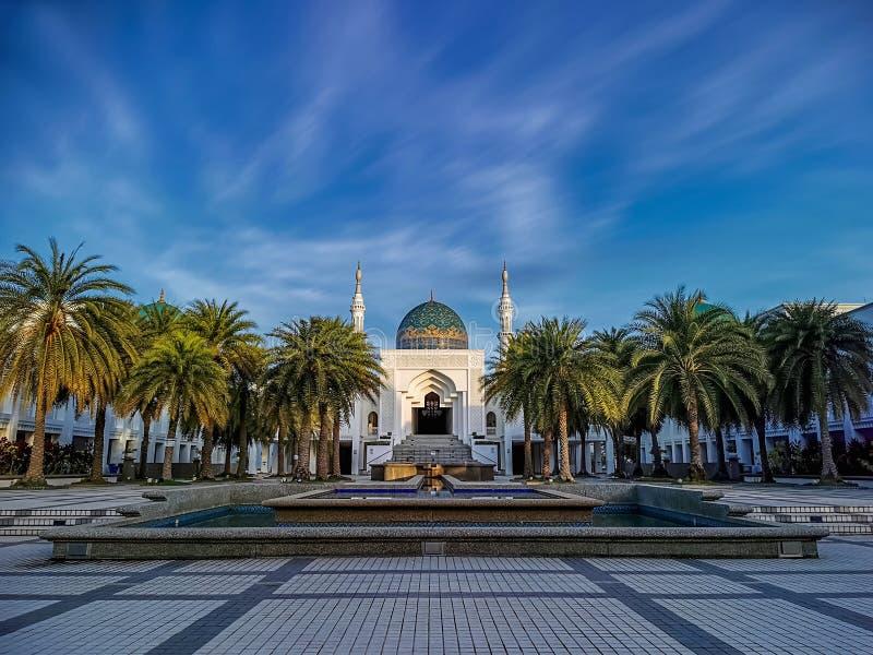 Mesquita Albukhary em Alor Setar, Kedah, Malásia imagens de stock royalty free