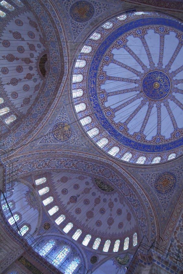 Mesquita azul imagens de stock royalty free