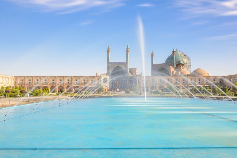 Mesquita azul com associação de turquesa imagens de stock