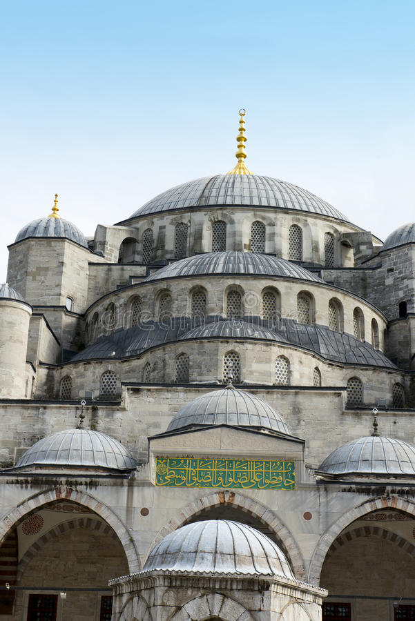 Mesquita azul, destino do curso, Istambul Turquia foto de stock royalty free