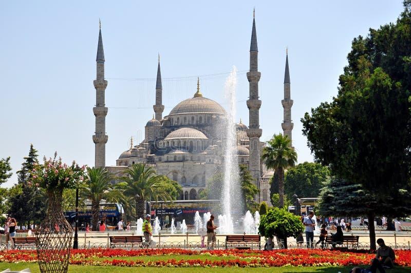 Mesquita azul, Istambul imagens de stock royalty free
