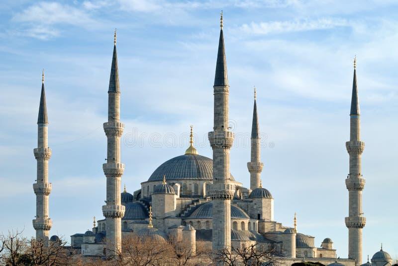Mesquita azul, Istambul, peru foto de stock royalty free