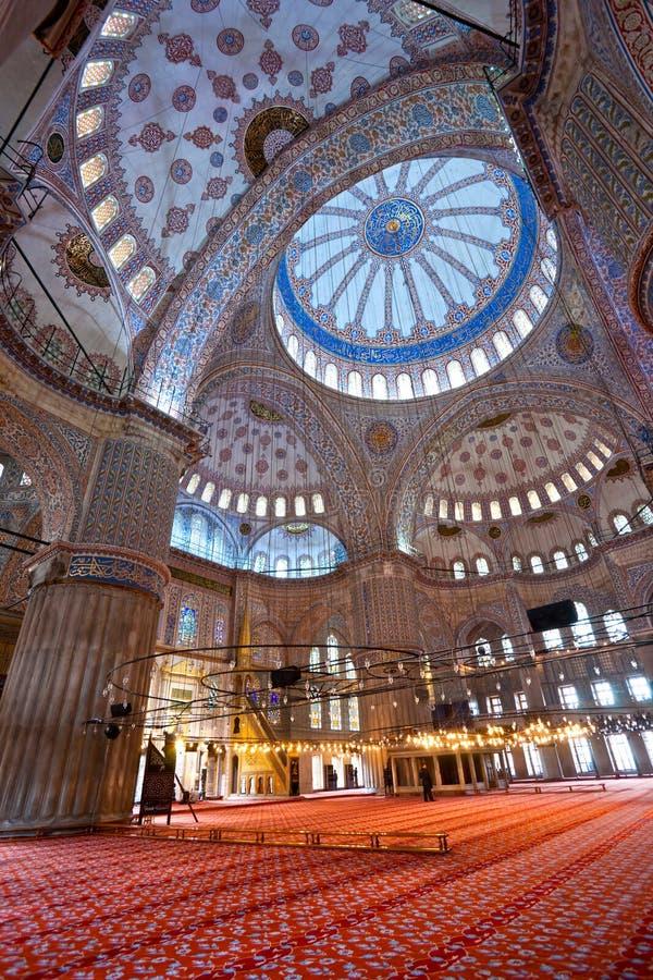 A mesquita azul, Istambul, Turquia. fotografia de stock