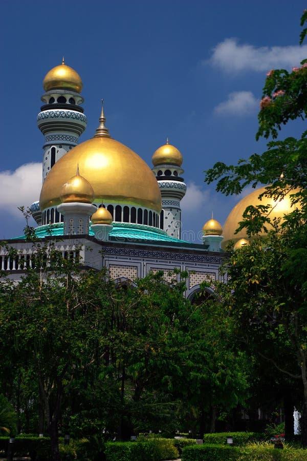 Mesquita Bandar Seri Brunei begawan fotos de stock