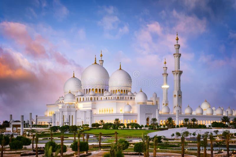 Mesquita branca imagens de stock
