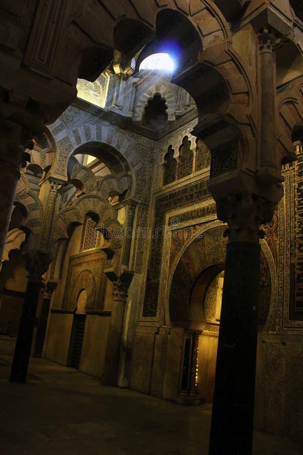 Mesquita-catedral de Córdoba imagem de stock royalty free