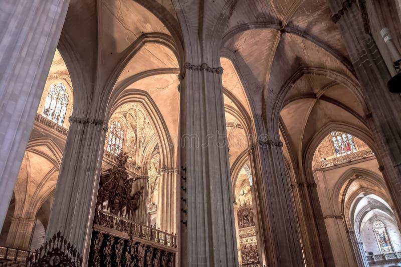 Mesquita/catedral do rdoba do ³ de CÃ - arcos no Romano-estilo fotografia de stock royalty free