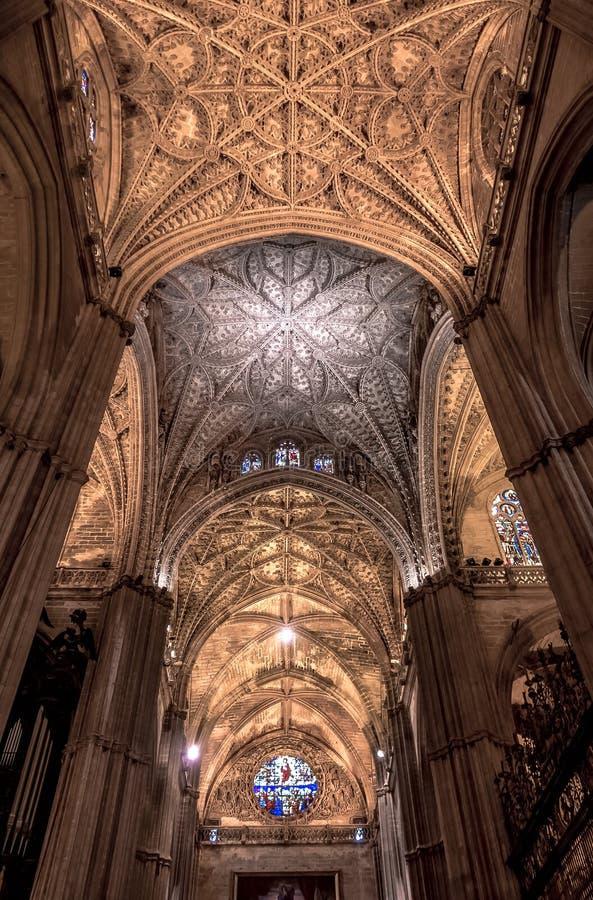 Mesquita/catedral do rdoba do ³ de CÃ - arcos no Romano-estilo fotografia de stock