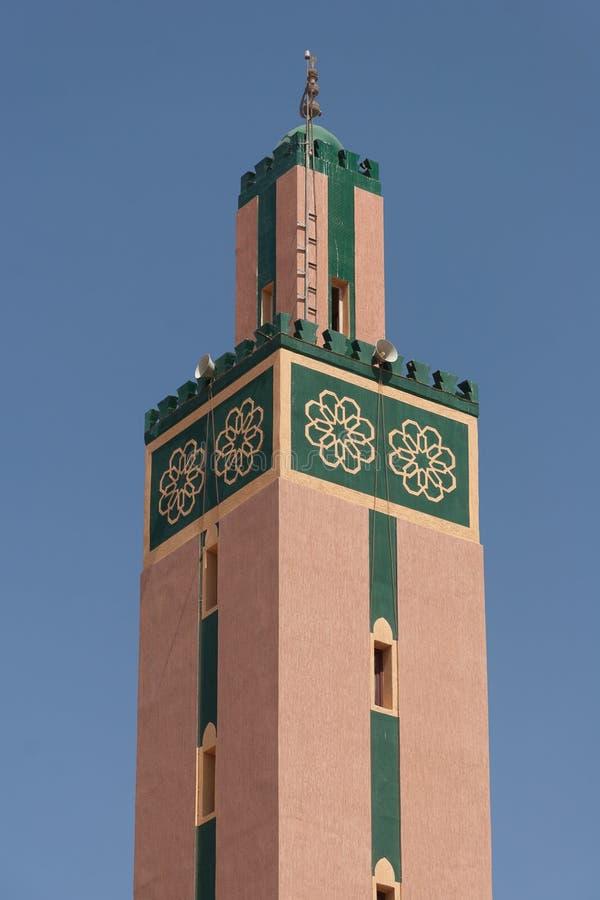 Mesquita da cidade de Tiznit, Marrocos imagens de stock