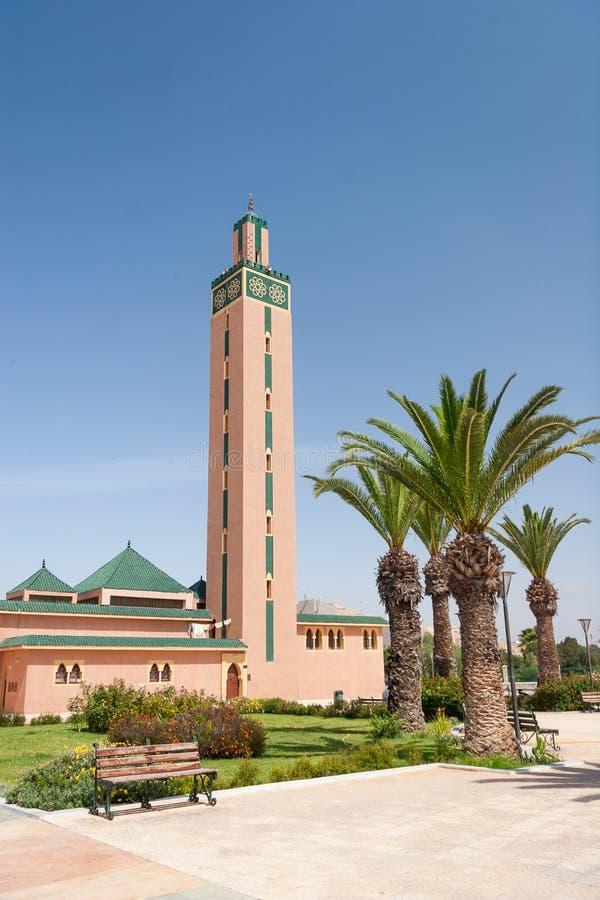 Mesquita da cidade de Tiznit, Marrocos foto de stock royalty free