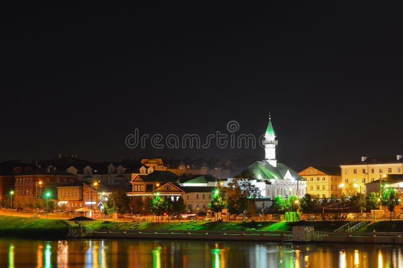 Mesquita da noite imagens de stock