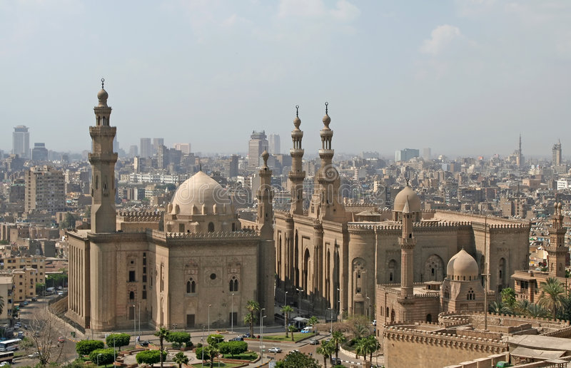 Mesquita da sultão Hassan imagens de stock