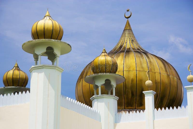 Mesquita de Ahmad Shah da sultão, Malaysia imagens de stock royalty free