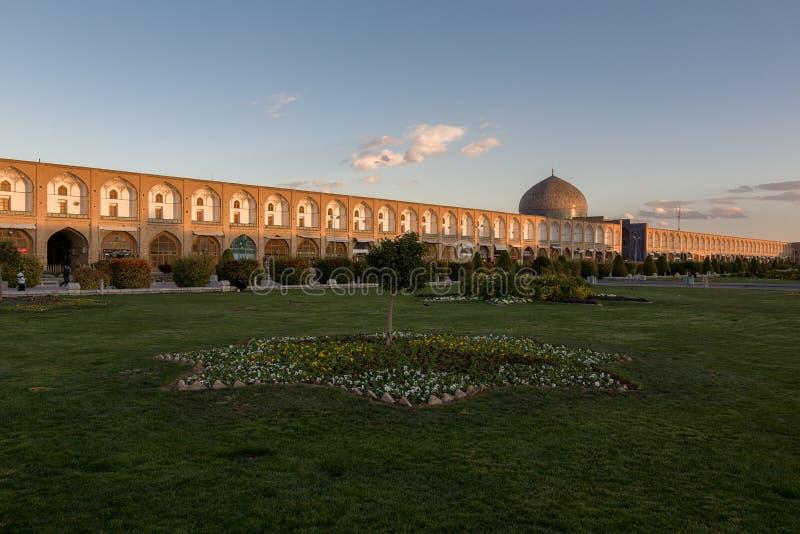 Mesquita de allah do lotf do xeique e quadrado jahan do naghsh fotografia de stock royalty free