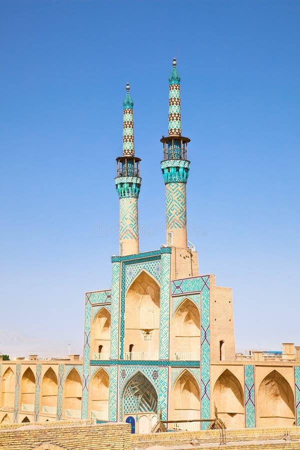 Mesquita de Chakhmgh do Amir de Takyeh imagem de stock