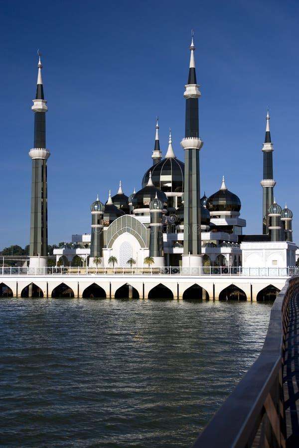 Mesquita de cristal imagem de stock