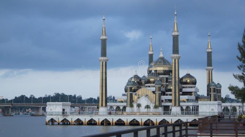 Mesquita de cristal fotografia de stock