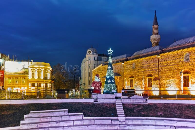 Download Mesquita De Dzhumaya E Rua Central Da Cidade De Plovdiv, Bulgária Fotografia Editorial - Imagem de antigo, centro: 65578712