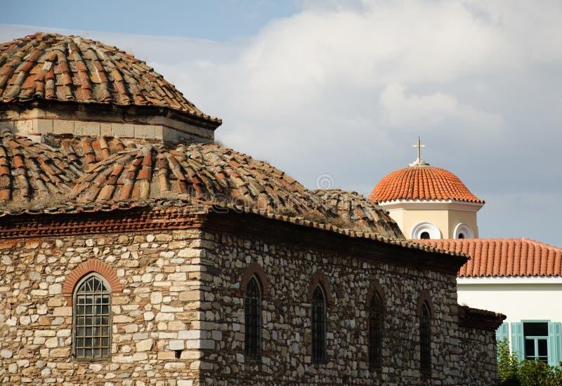 Mesquita de Fetiye, Atenas fotografia de stock royalty free