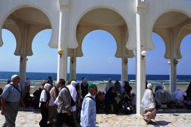 Mesquita de flutuação de Masjid AR-Rahmah, Mar Vermelho fotos de stock royalty free