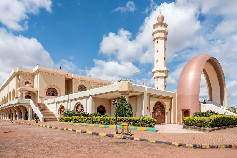 Mesquita de Gaddafi na cidade de Kampala, Uganda fotografia de stock