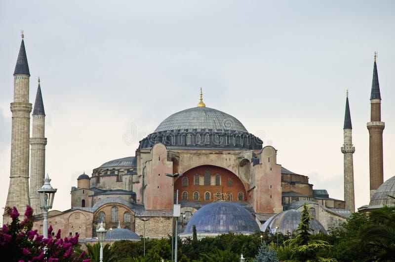 Mesquita de Hagia Sófia em Istambul imagem de stock royalty free