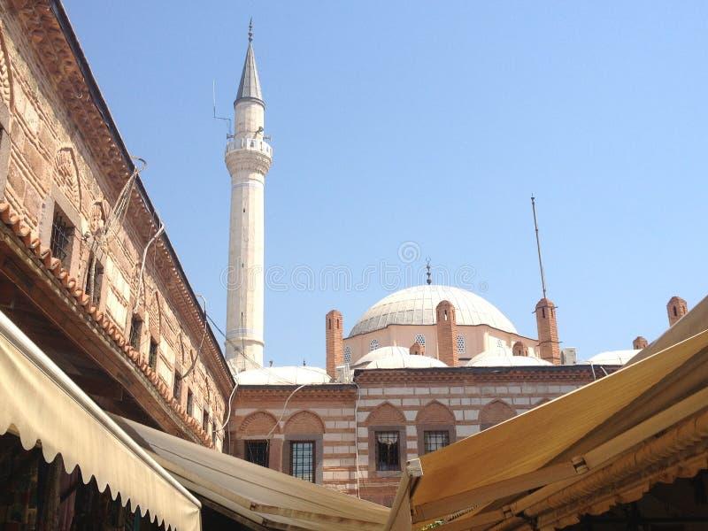 Mesquita de Hisar em Izmir, Turquia imagens de stock royalty free