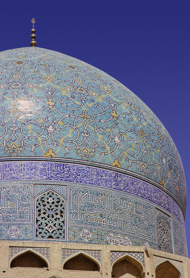 Mesquita de Isfahan imagem de stock