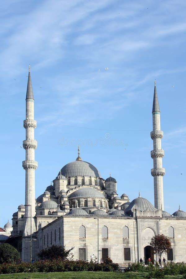 Mesquita de Istambul Yeni foto de stock