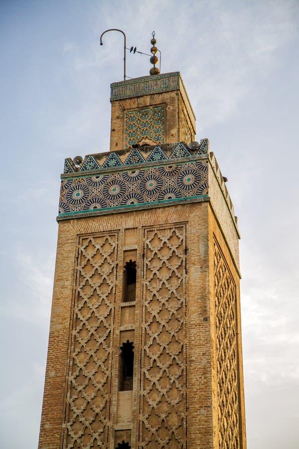 Mesquita de Kairaouine em Fes, Marrocos fotos de stock