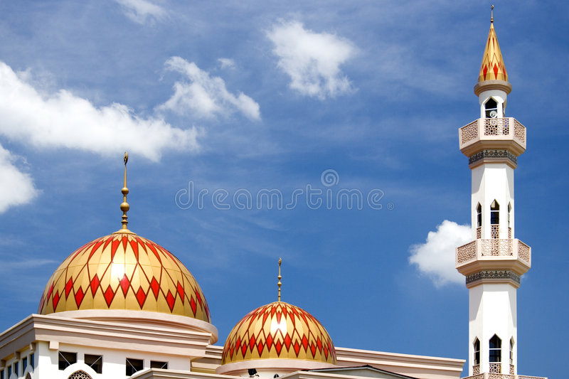 Mesquita de Kepong fotos de stock royalty free