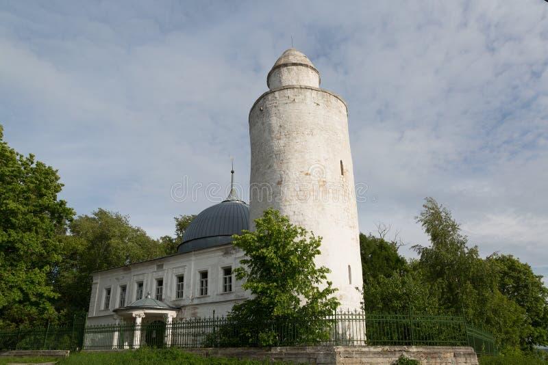 Mesquita de Khan no centro de Kasimov imagens de stock royalty free