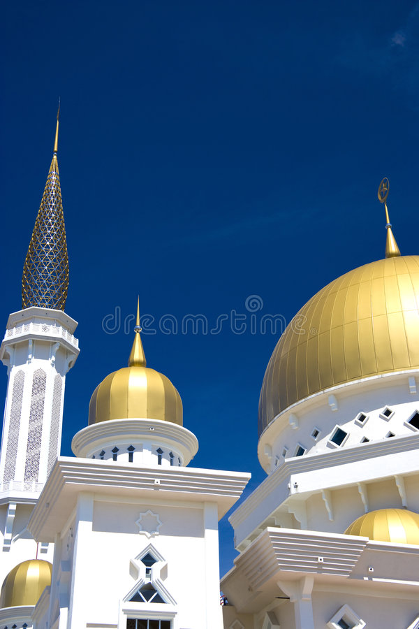 Mesquita de Klang, Malaysia imagens de stock royalty free