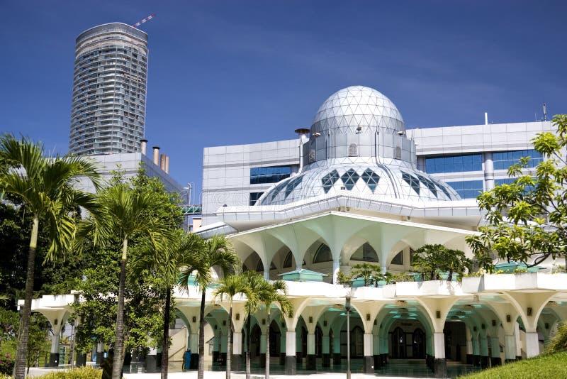 Mesquita de KLCC imagens de stock royalty free