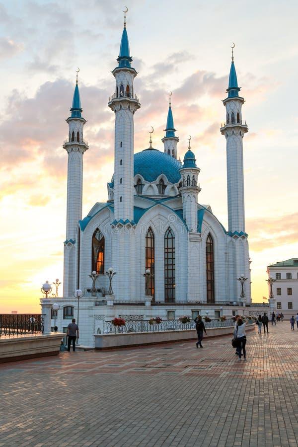 Mesquita de Kul-Sharif, Kazan, Rússia imagens de stock royalty free