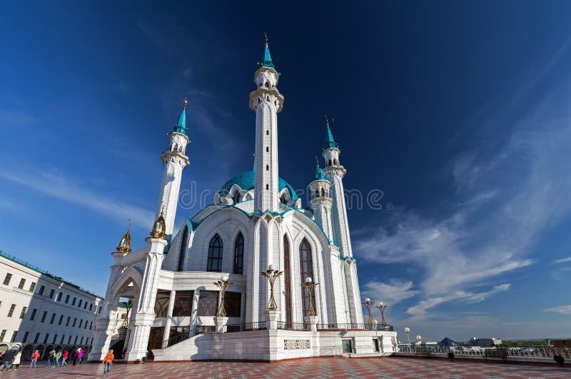 Mesquita de Kul Sharif (Qolsherif, Kol Sharif, Qol Sharif, Qolsarif) imagens de stock royalty free